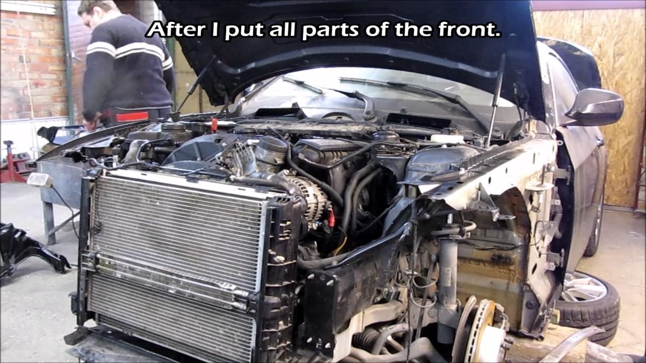 BMW Cabrio  Body repair. Ремонт кузова.