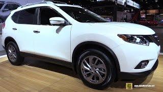 2015 Nissan Rogue SL AWD - Exterior and Interior Walkaround - 2015 Chicago Auto Show