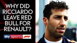 Why did Ricciardo leave Red Bull for Renault? | Welcome to the Weekend | Belgium Grand Prix