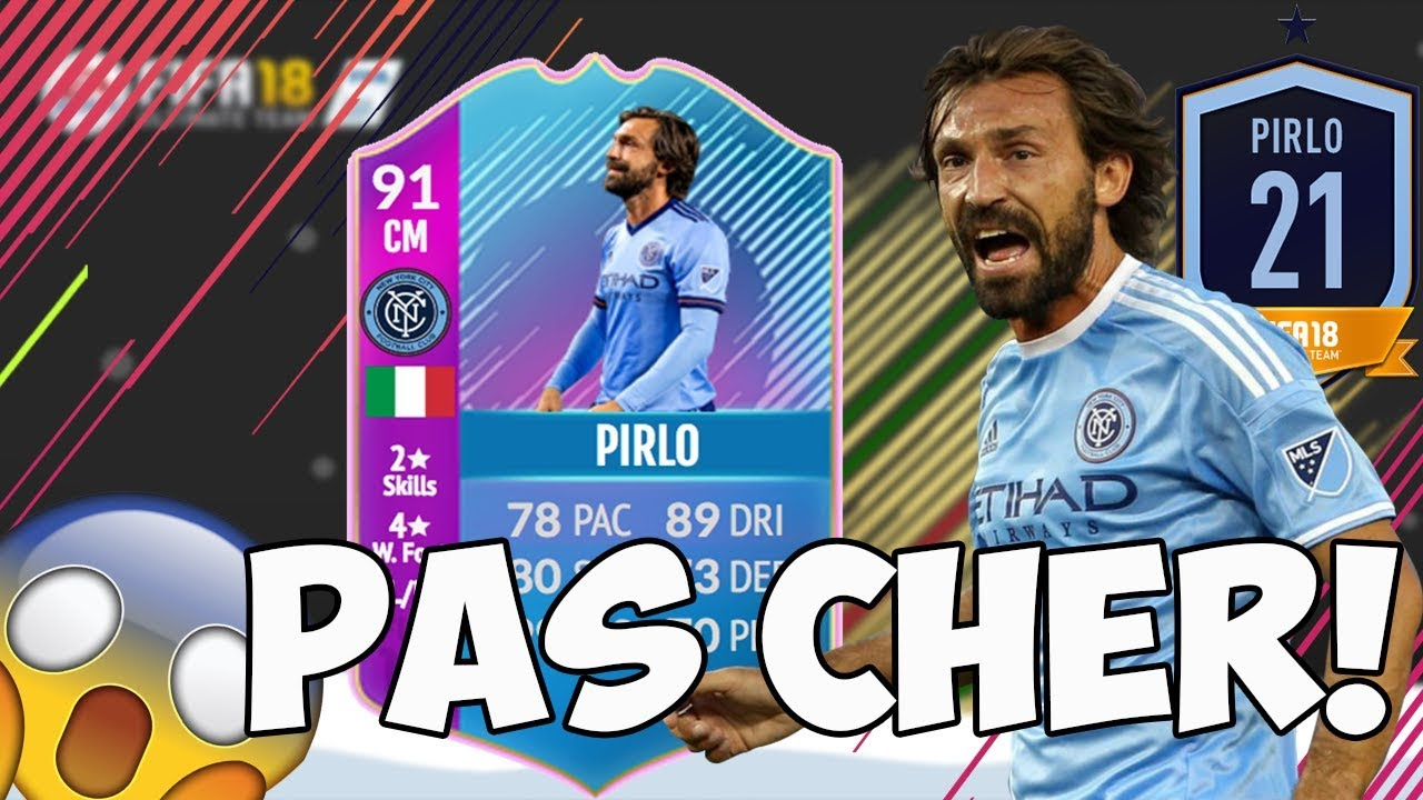 sbc pirlo 91 pas cher fifa 18 youtube. Black Bedroom Furniture Sets. Home Design Ideas