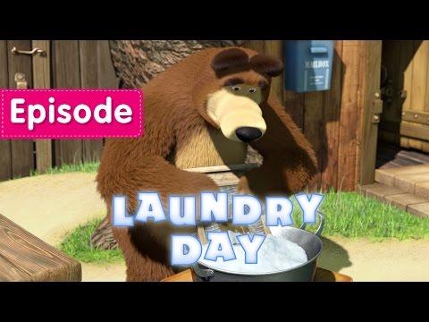 Masha and The Bear - Laundry Day (Episode 18)