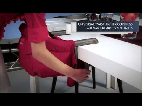 INGLESINA FAST TABLE CHAIR TECHNICAL VIDEO