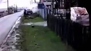 Машина сбила корову ДТП! Авария! Видеорегистратор