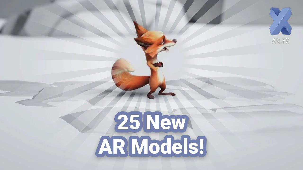 AR.fx | New 3D Objects to collect on Friday, Dec 04
