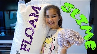 Making Floam Slime | Grace's Room
