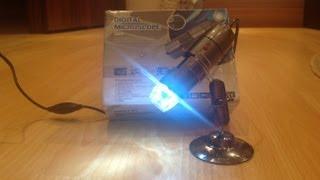 #11 Best Digital USB Microscope 20-800X Camera 2.0MP With 8 LED!