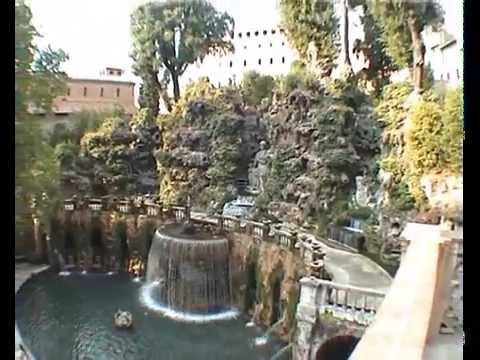 Jardines villa d este t voli youtube for Jardin villa d este