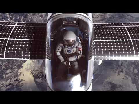 Flying a Solar Plane to the Edge of Space