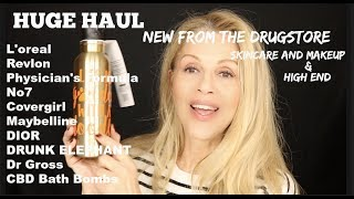 HAUL | DRUGSTORE | High End | Makeup and Skincare | all NEW!!
