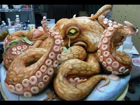 รวมเค้กแปลกๆ น่ากลัวมว๊ากกก..จนต้องตกใจ!!!!