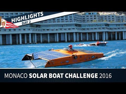 Monaco Solar Boat Challenge 2016 - Day 2