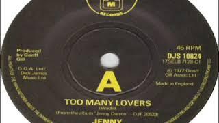 Jenny Darren Too Many Lovers 1978