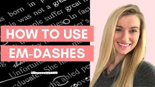 EM-DASH RULES | How To Use An Em-Dash | Prep For Success Tutors