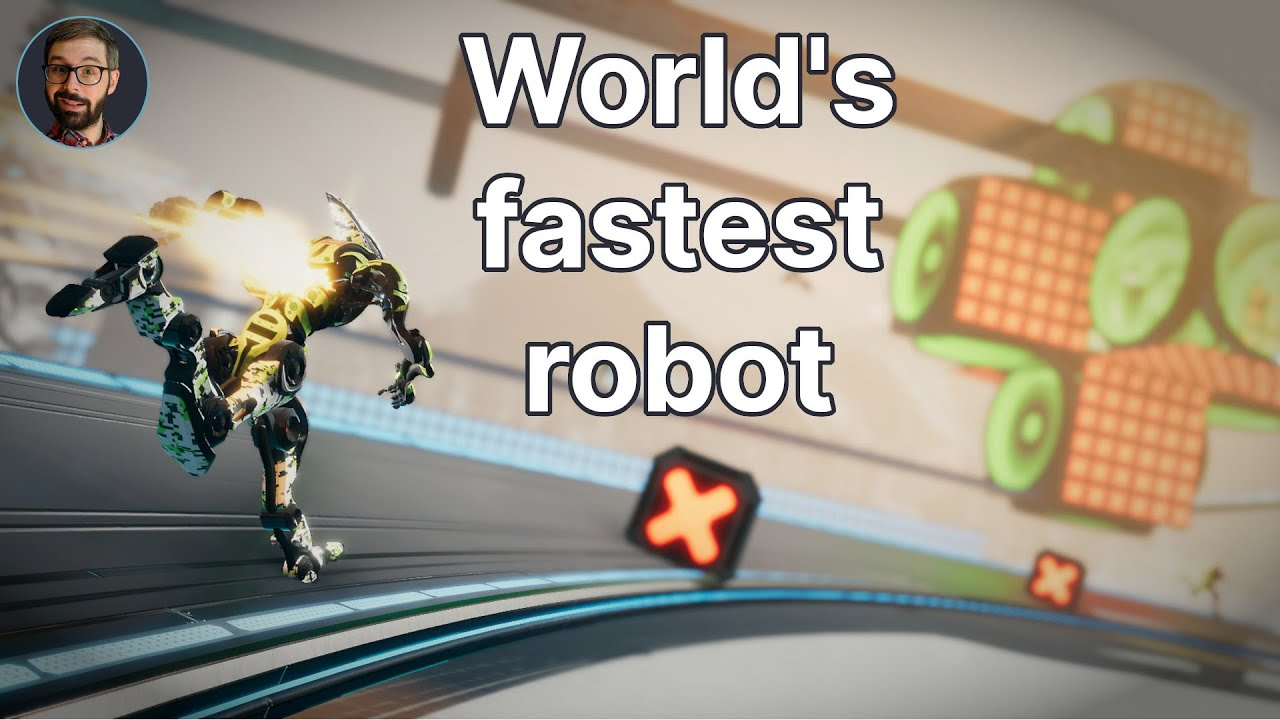SRC: Sprint Robot Championship Review (Video Game Video Review)