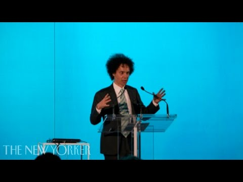 Malcolm Gladwell on the importance of stubbornness - The New Yorker Live