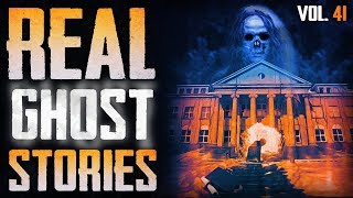 MY COLLEGE POLTERGEIST | 11 True Scary Paranormal Ghost Horror Stories (Vol. 41)