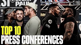 Top 10 Most Memorable Press Conference Moments On DAZN