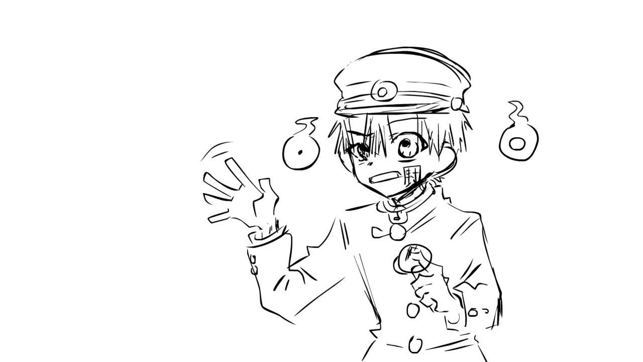 hanako doesn't like being tickled || Toilet-bound Hanako-kun Animatic