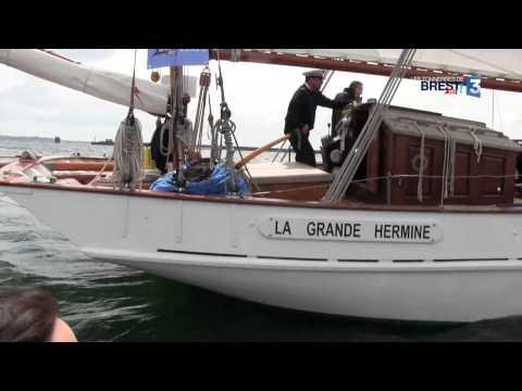 Les Tonnerres De Brest 2012 : Les Vieux Gréements De La Marine Française