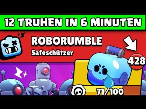 EASY Glitch 😱 12 Truhen in 6 Minuten | Brawl Stars Robo Rumble Deutsch German