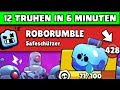 EASY Glitch 😱 12 Truhen in 6 Minuten | Brawl Stars Robo Rumble Deutsch German