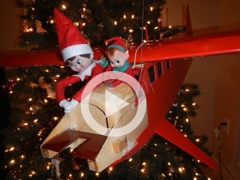 Mischievous Elf on the shelf (Full Movie Part 2) - Cubscout Eric