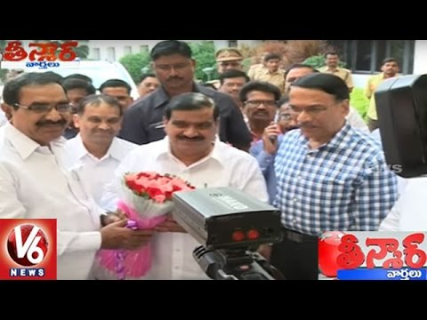 Telangana RTC Plans To Introduce Platform Tickets | Teenmaar News | V6 News
