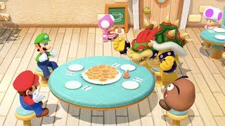 Super Mario Party - All Food Minigames (Luigi Gameplay) | MarioGamers