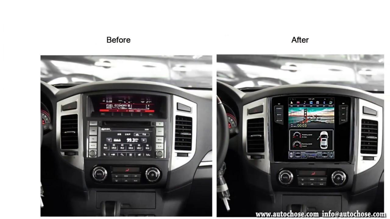"Mitsubishi Pajero 10.4"" Tesla Style Head Unit - Autochose ..."