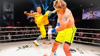 Shaolin Monk vs Giant - Epic Battle  Don39t Mess With Kung Fu Masters