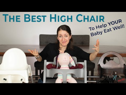 The Best High Chair To Help Your Baby Eat Well!