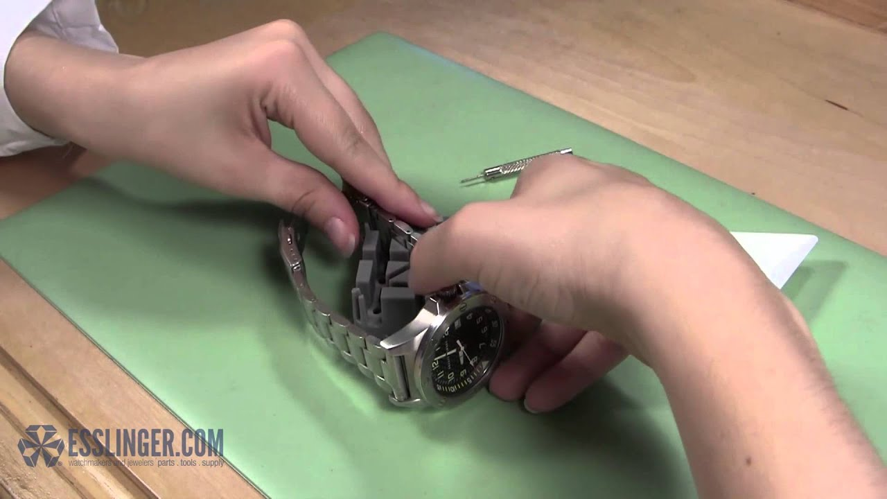 How To Remove Watch Band Pins Cotter Friction
