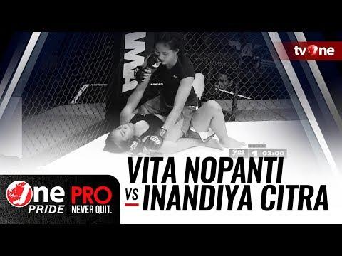 [HD] One Pride MMA #3: Vita Nopanti VS Inandiya Citra - Woman Strawweight Tournament Fight