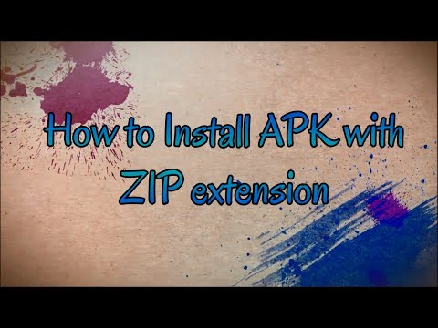 How To Install Android Apk With .zip Extension