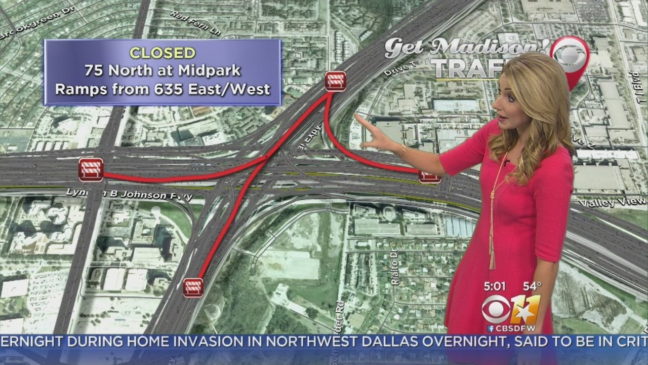 Traffic Alert: Part of Central Expressway Closed After Fatal Accident