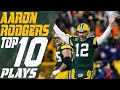 aaron rodgers top 10 plays of the 2016 season green bay packers nfl highlights
