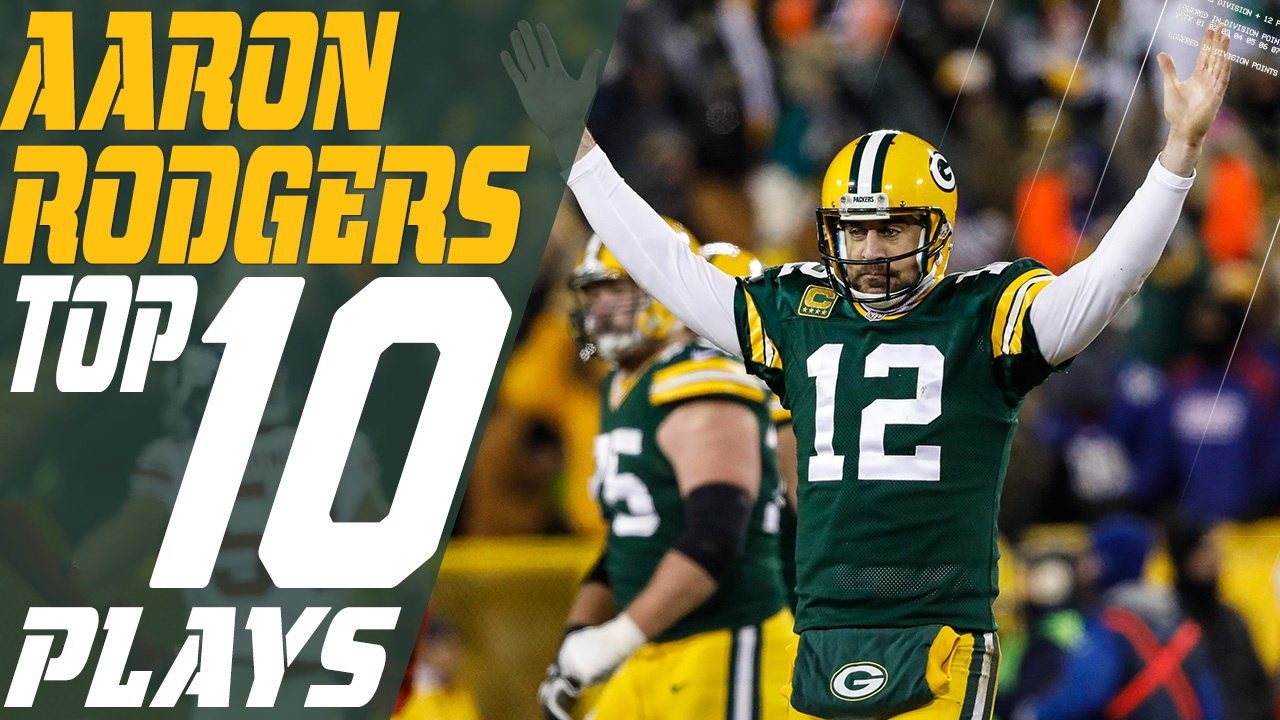 35a54a702 Aaron Rodger's Top 10 Plays of the 2016 Season | Green Bay Packers | NFL  Highlights