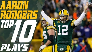 Aaron Rodger's Top 10 Plays of the 2016 Season | Green Bay Packers | NFL Highlights