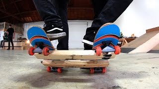 THE TWO MAN SKATEBOARD | IS THIS POSSIBLE?!