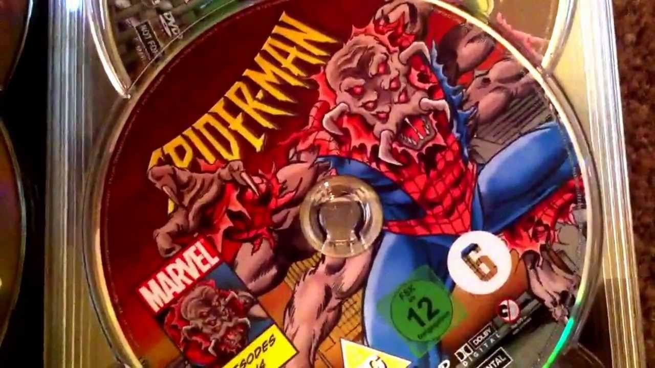 Spider-man The Complete Animated Series (1994) DVD