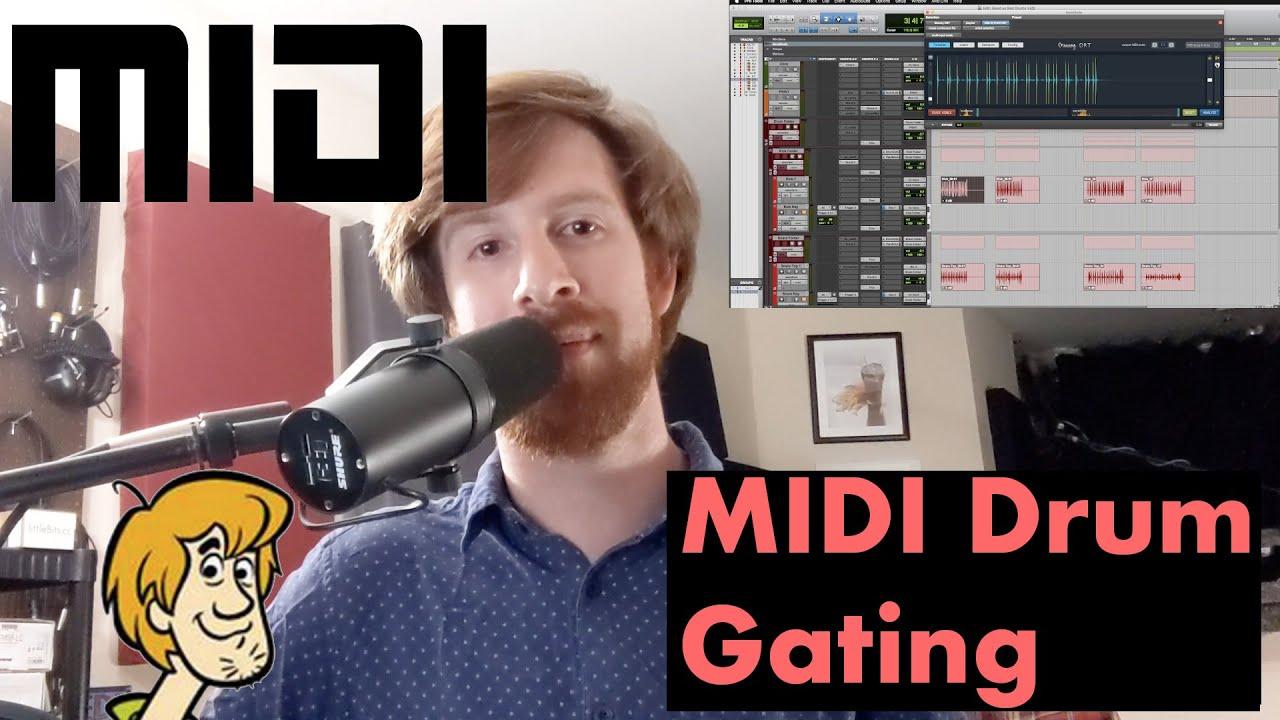 Video: Midi Trigger Drum Gating!