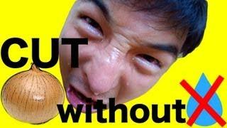 I cut onion without tear!! |【ポロリもあるよ】涙を流さずタマネギをみじん切り thumbnail
