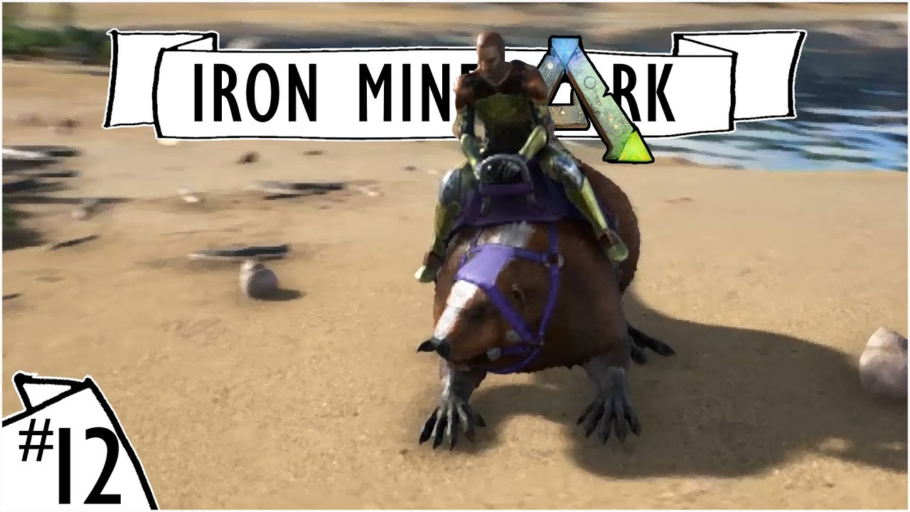 Giant beaver perfect 120 castoroides tame ep 12 ark perfect 120 castoroides tame ep 12 ark survival evolved iron mine server youtube malvernweather