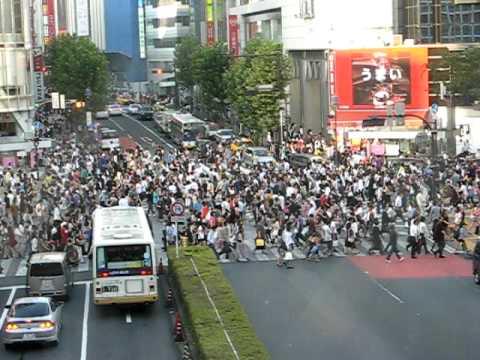 Sexy traffic at Shibuya - Tokyo