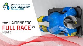 Altenberg | BMW IBSF World Championships 2020 - Women's Skeleton Heat 2 | IBSF Official
