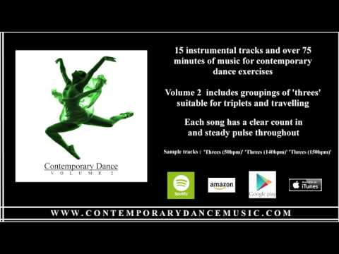 Music for Contemporary Dance - Volume 2