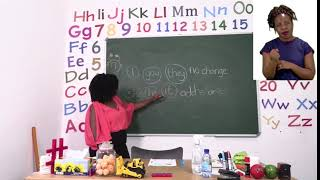 My Zone Online School 2021: Grade 3 - Week 8 - Lesson 1 - (Vowels, reading and Phonics)