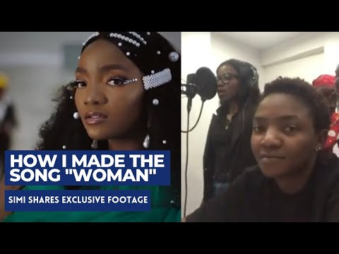 Simi   Woman   Official Video/Studio Session