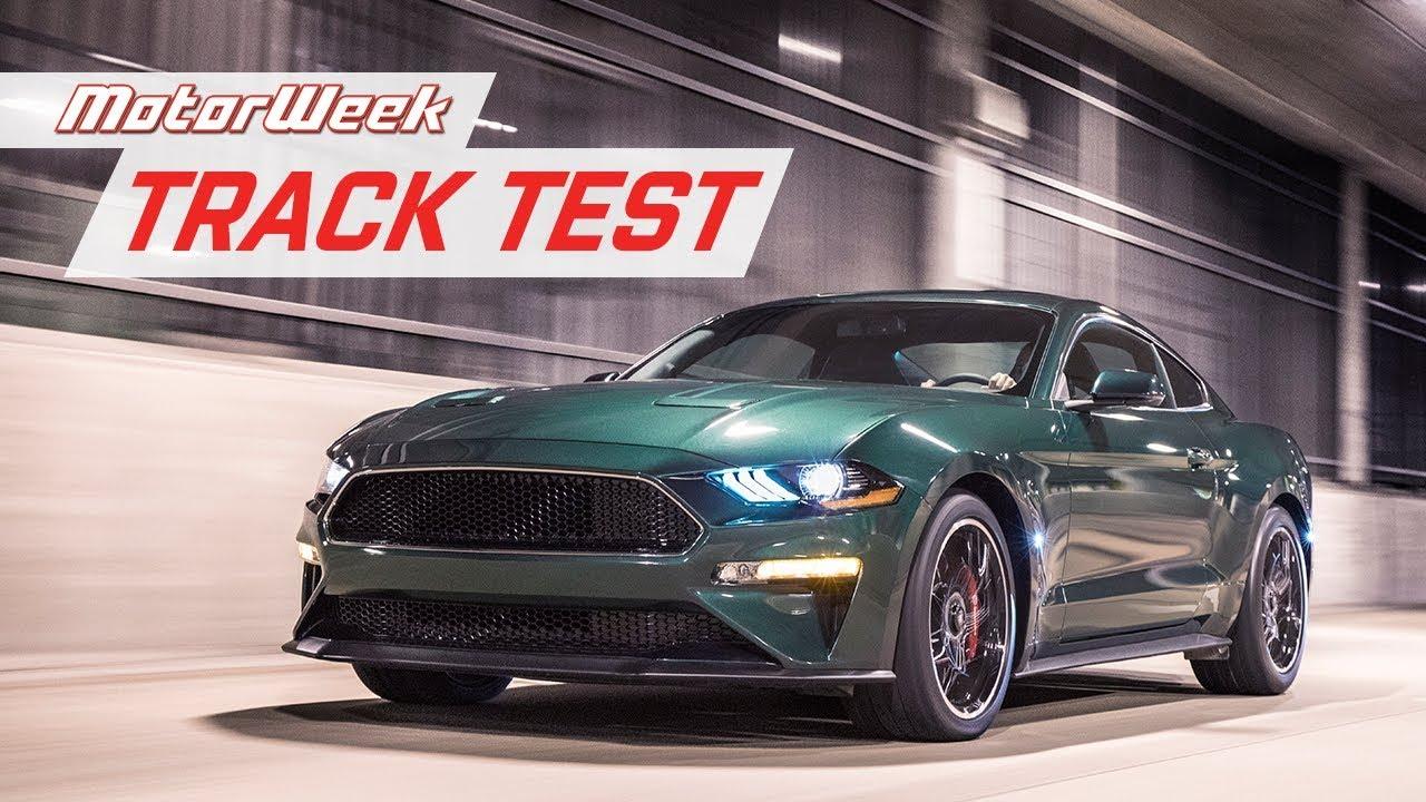 2019 ford mustang bullitt track test