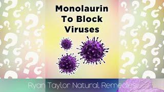 Monolaurin For Blocking Viruses #shorts